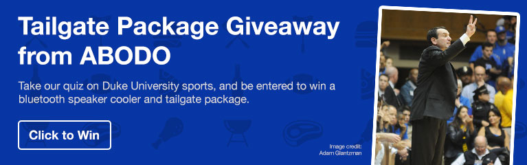 Duke Tailgate Package Giveaway