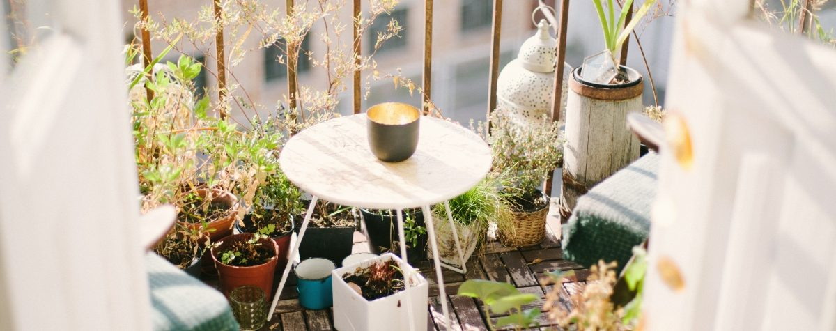 Make your balcony as gorgeous as your apartment