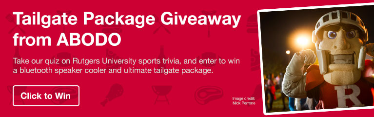 Rutgers Tailgate Package Giveaway