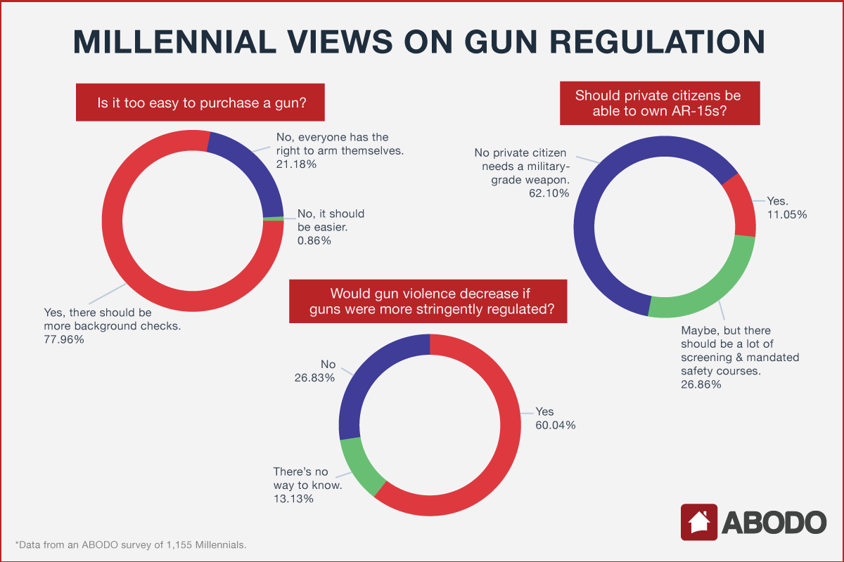 Millennial Views on Gun Regulation