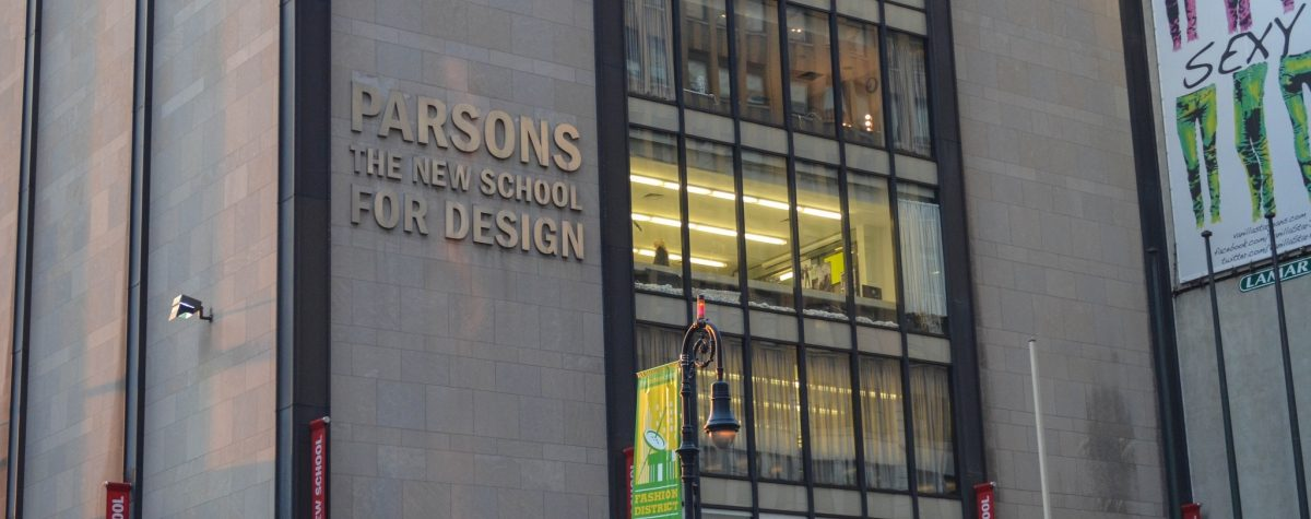 Image of the Parsons School of Design via Flickr, by CC 2.0