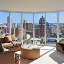 Moderne luxury apartment in Milwaukee