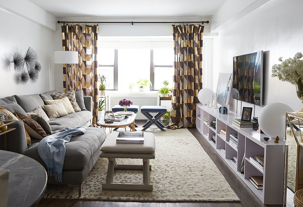 Your apartment makeover on a strict budget abodo - Living room furniture on a budget ...