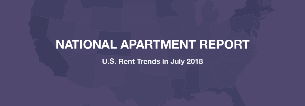 July 2018 Rent Report