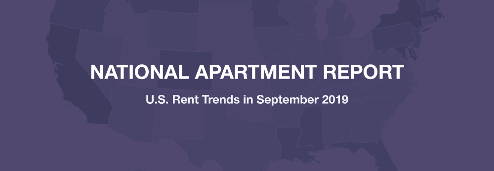 September 2019 Rent Report