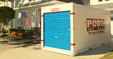 renting a pods container