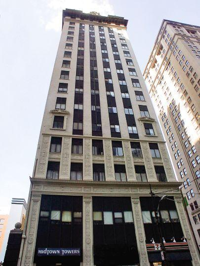 Midtown Towers Pittsburgh See Pics Amp Avail