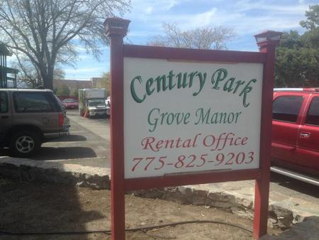 Century Park And Grove Manor Reno Apartment For Rent