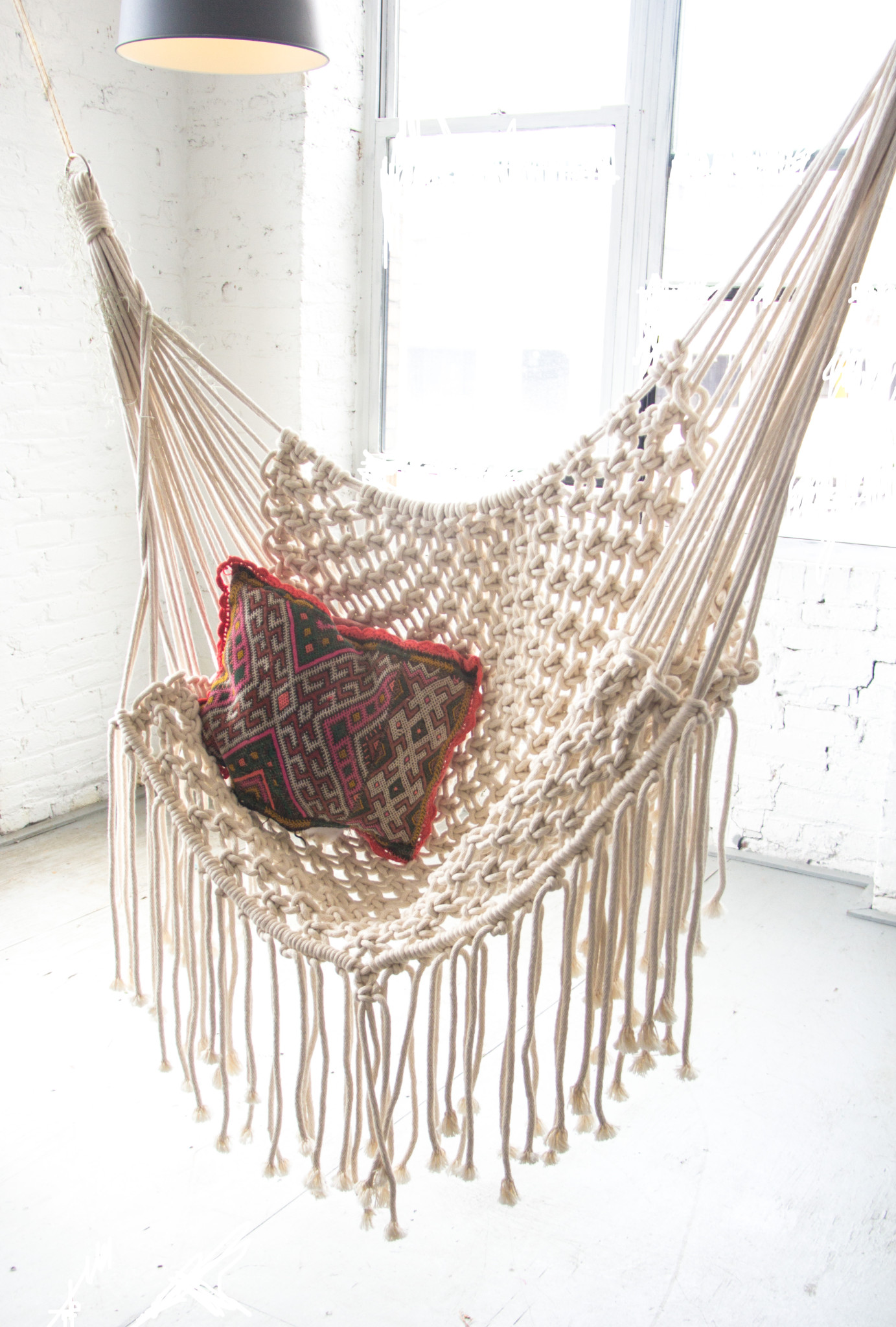 hanging macrame chairs white macrame hammock patina 6018