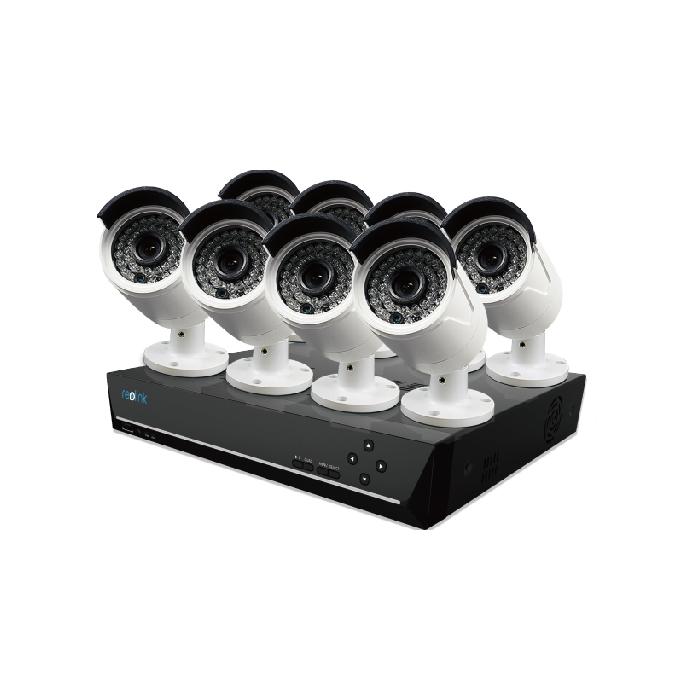 Reolink Rlk16 410b8 Poe Nvr Security Video System