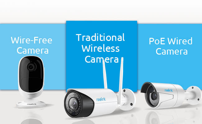 Wired Vs Wireless Security Cameras Which One To Choose Reolink Blog