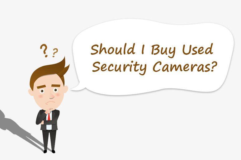 Second Hand Security Cameras