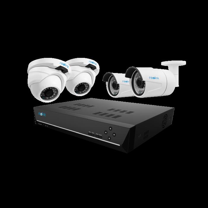 Reolink Rlk8 410b2d2 Poe Nvr Security Camera System