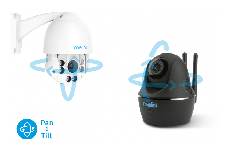 Pan Tilt IP Security Cameras