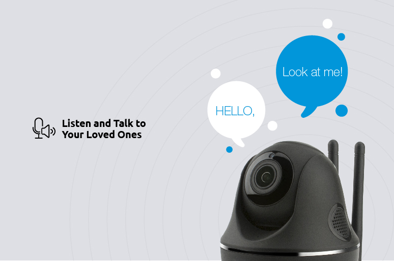 Two Way Audio Security Camera