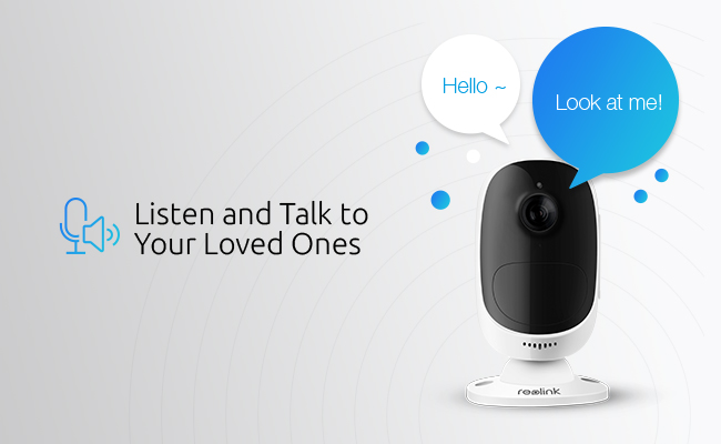 Two Way Audio Security Cameras