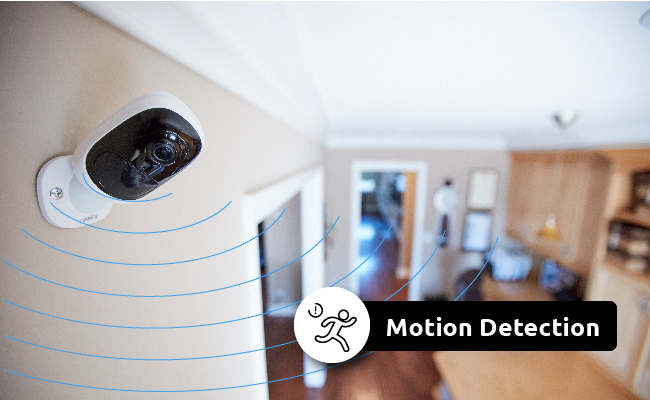 single pole wide view motion activated light control cat