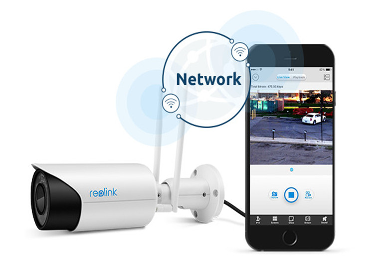 Dual Band Wireless Bullet Cam