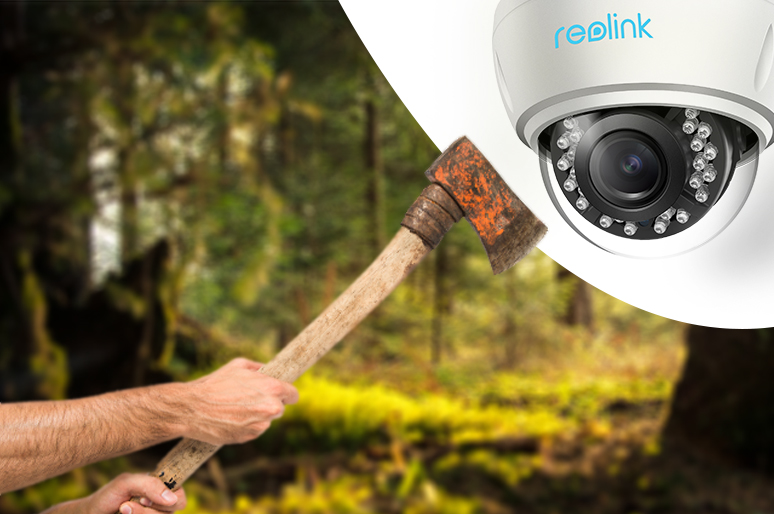 Prevent Security Cameras from Being Tampered