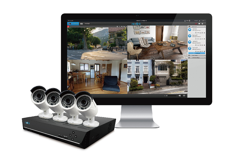 Outdoor PoE IP Camera System
