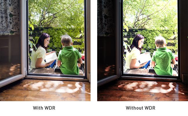 WDR Comparison