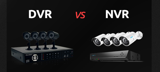 NVR vs DVR Security Camera System