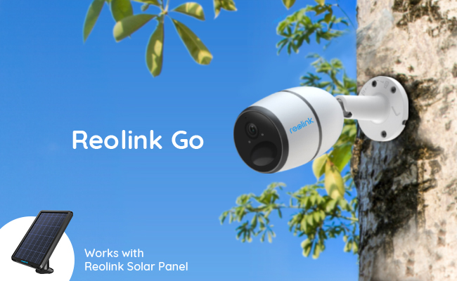 Reolink Go with Solar Panel