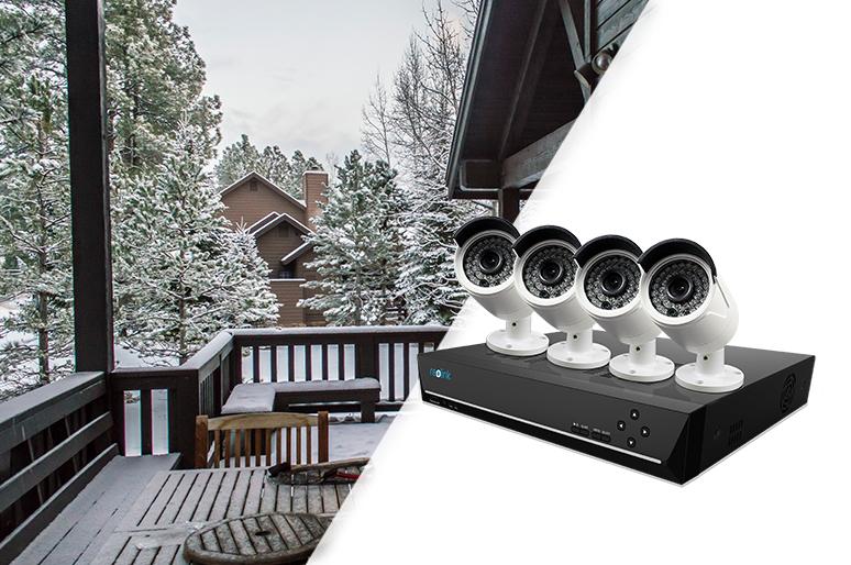 Ethernet Security Camera System