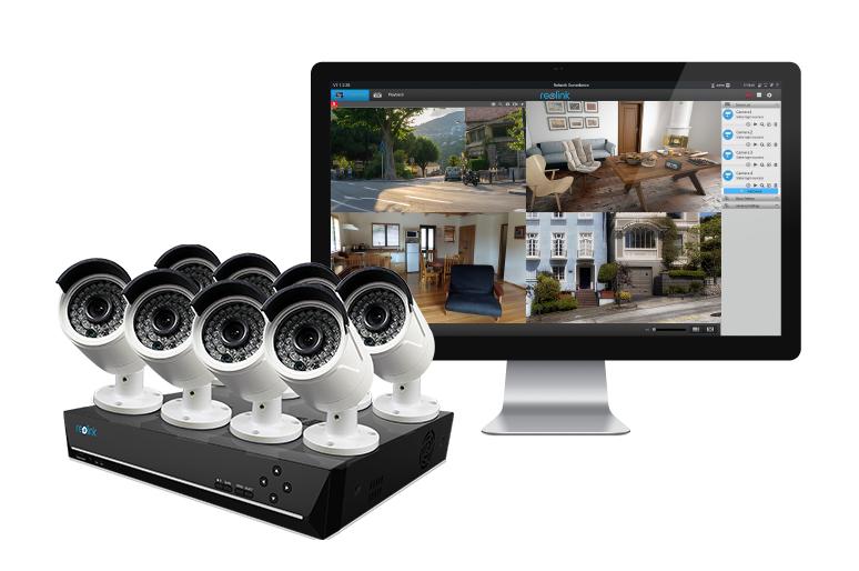 PoE IP Kamera und Set