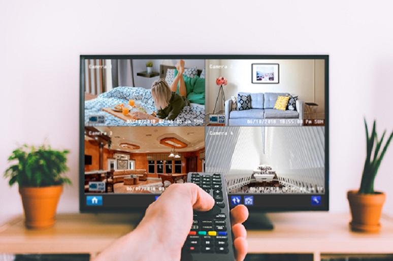 IP Kamera auf TV übertragen