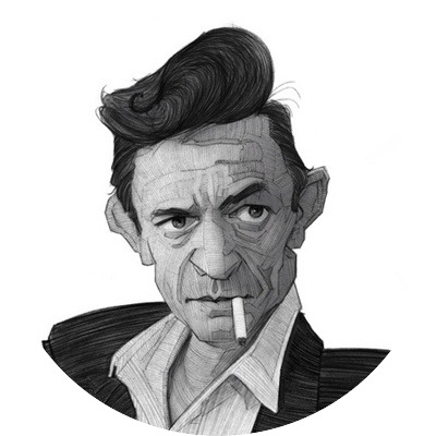 Johnny Cash: The Man In Black?
