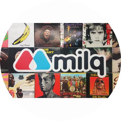 Milq Wall Music?