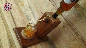 Mira como hice mi Dispensador de whisky.