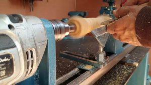 Como hacer Torno para madera paso a paso 1ra parte