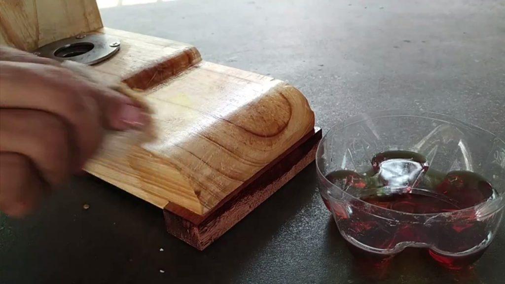 sellar madera con aceite
