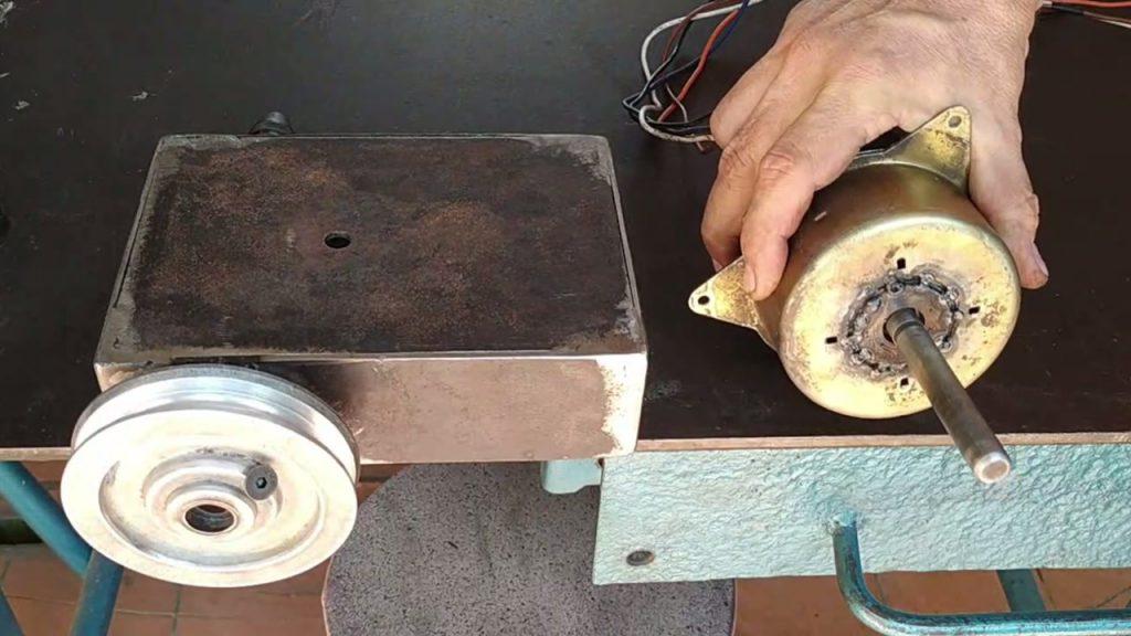 motor de electro ventilador