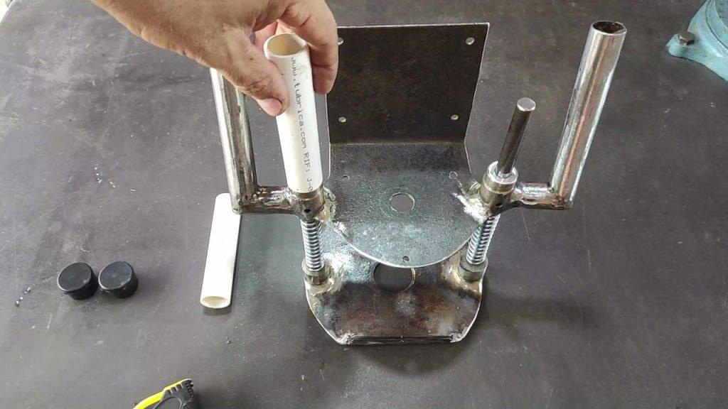 como hacer fresadora con motor de bomba de agua