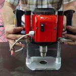 Fresadora con motor de bomba de agua en 5 pasos