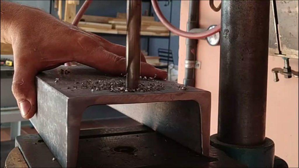 perforación con brocas