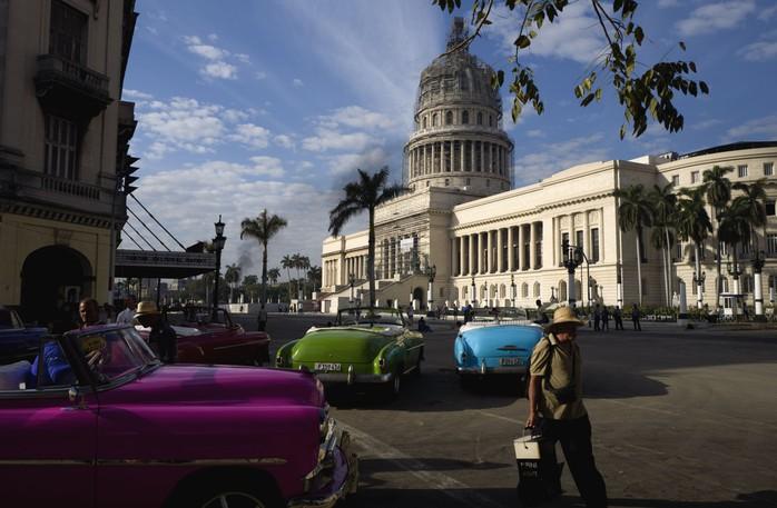 The Capitol in Havana, Cuba, in 2016.