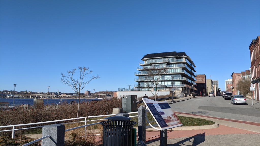 A view of the waterfront from Prince William Street in uptown Saint John. Saint John's growing population is a positive side, but more must be done to protect the city's competitive position relative to the rest of New Brunswick, writes our editorial board.