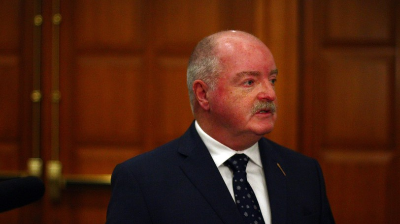 New Brunswick's social assistance program has been under review this year by Minister of Social Development Bruce Fitch.