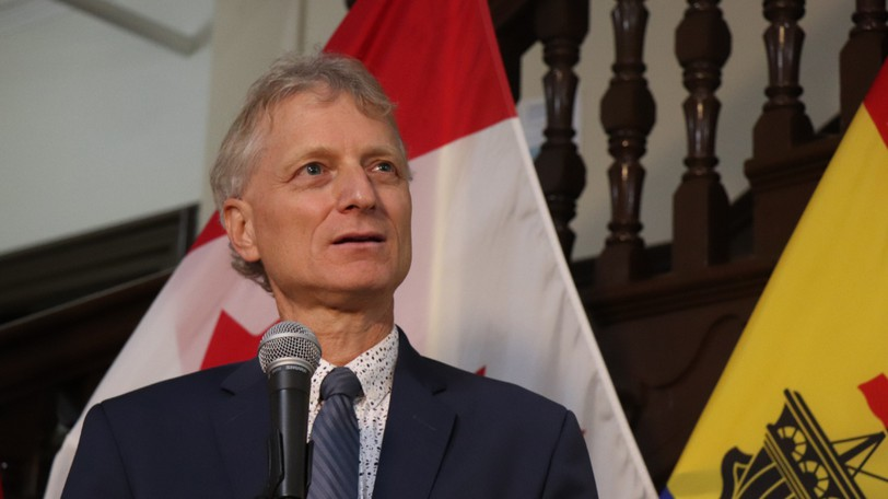 Interim Liberal Leader Roger Melanson is pictured in this file photo.