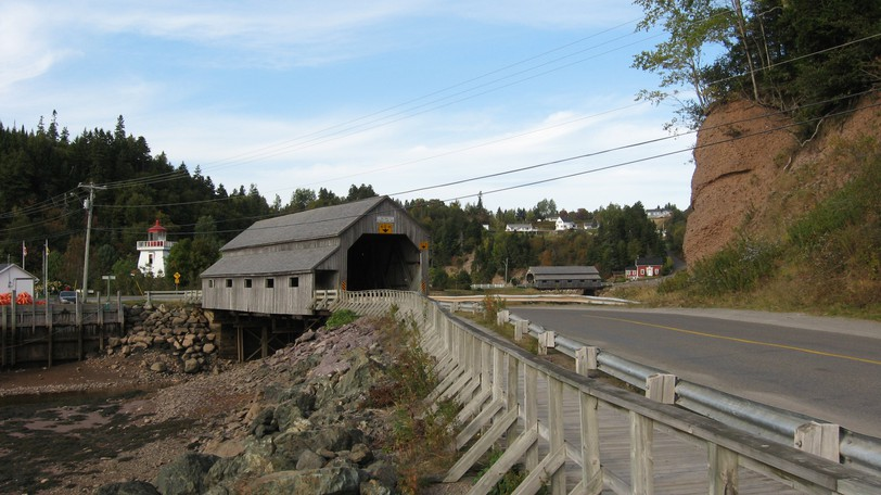 A Government of New Brunswick press release on Sept. 17 stated work on the replacement of Vaughn Creek Covered Bridge in St. Martins has begun.
