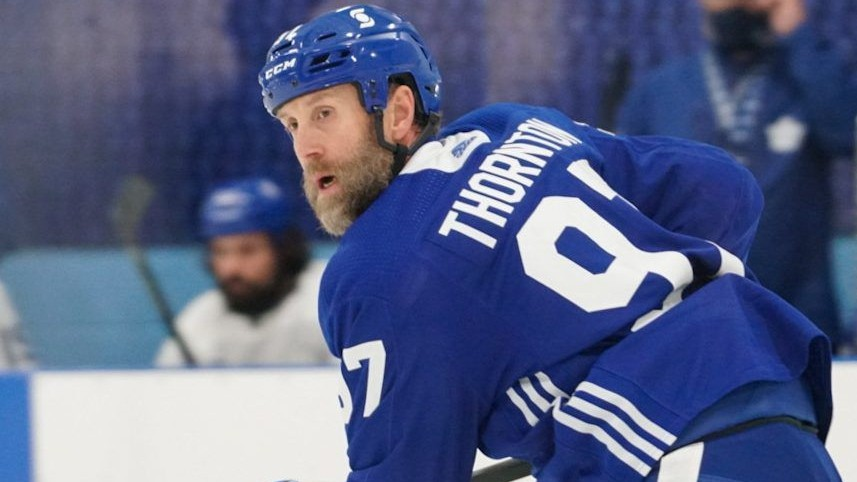 Mike Clifford, associate editor for dobberhockey.com, says 41-year-old Joe Thornton could be a surprise on the Toronto Maple Leafs' top line.