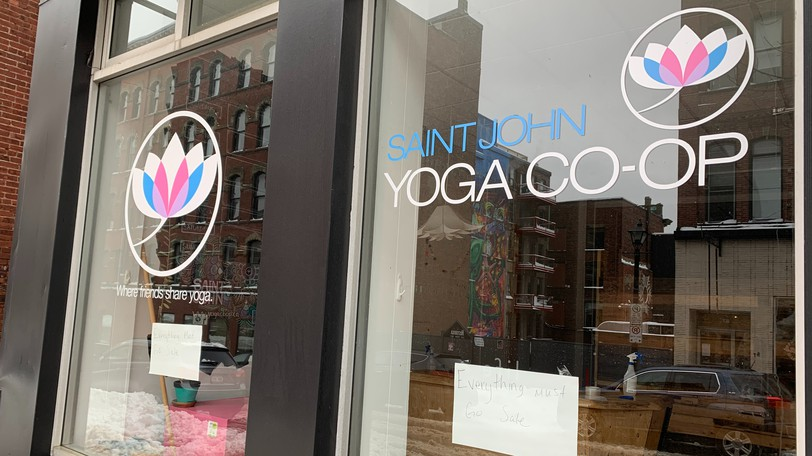 Saint John Yoga Co-op - now with a 2.0 at the end of its name - is moving back to its Germain Street space in October.