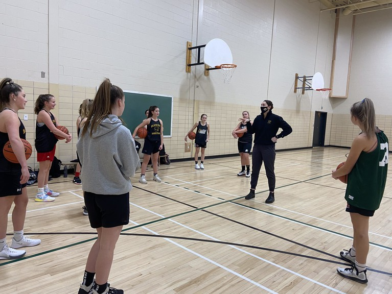 With the return of Zone 3 to the orange phase under the province's COVID-19 recovery plan, sports may return to practices and skills and drills while maintaining appropriate social distance.