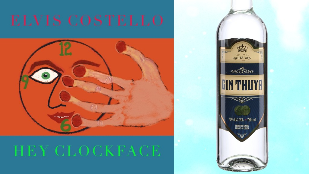 Use Gin Thuyato whip up a gimlet to go with Elvis Costello's Hey Clockface, Craig Pinhey writes.