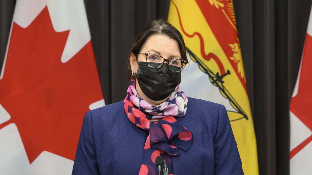 Dr. Jennifer Russell, the province's chief medical officer.