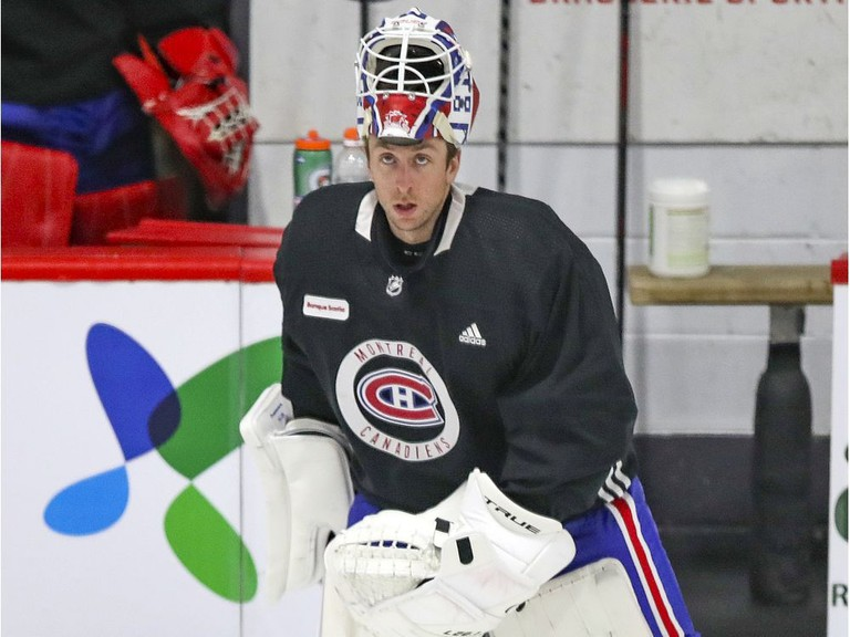 Montreal Canadiens goalie Jake Allen is off to a strong start with his new NHL team, with two wins on the road. The Canadiens are tied for the overall lead in the NHL standings with 10 points.